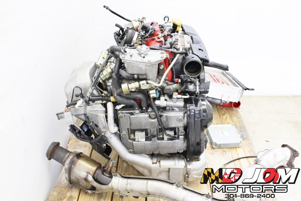 06 07 JDM Subaru Impreza WRX STI EJ207 Engine Version 9 ...