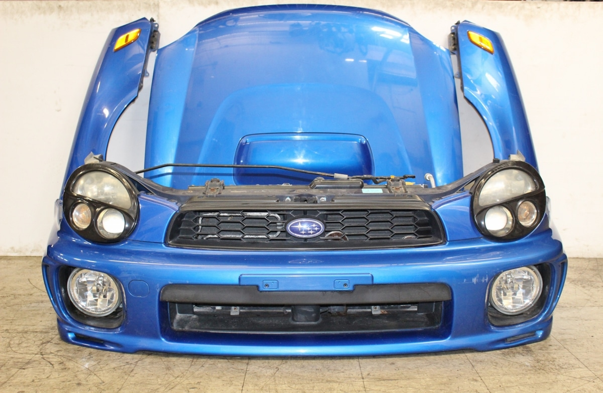 02-03 JDM Subaru Impreza WRX Wagon OEM Front End Conversion Nose Clip WRB