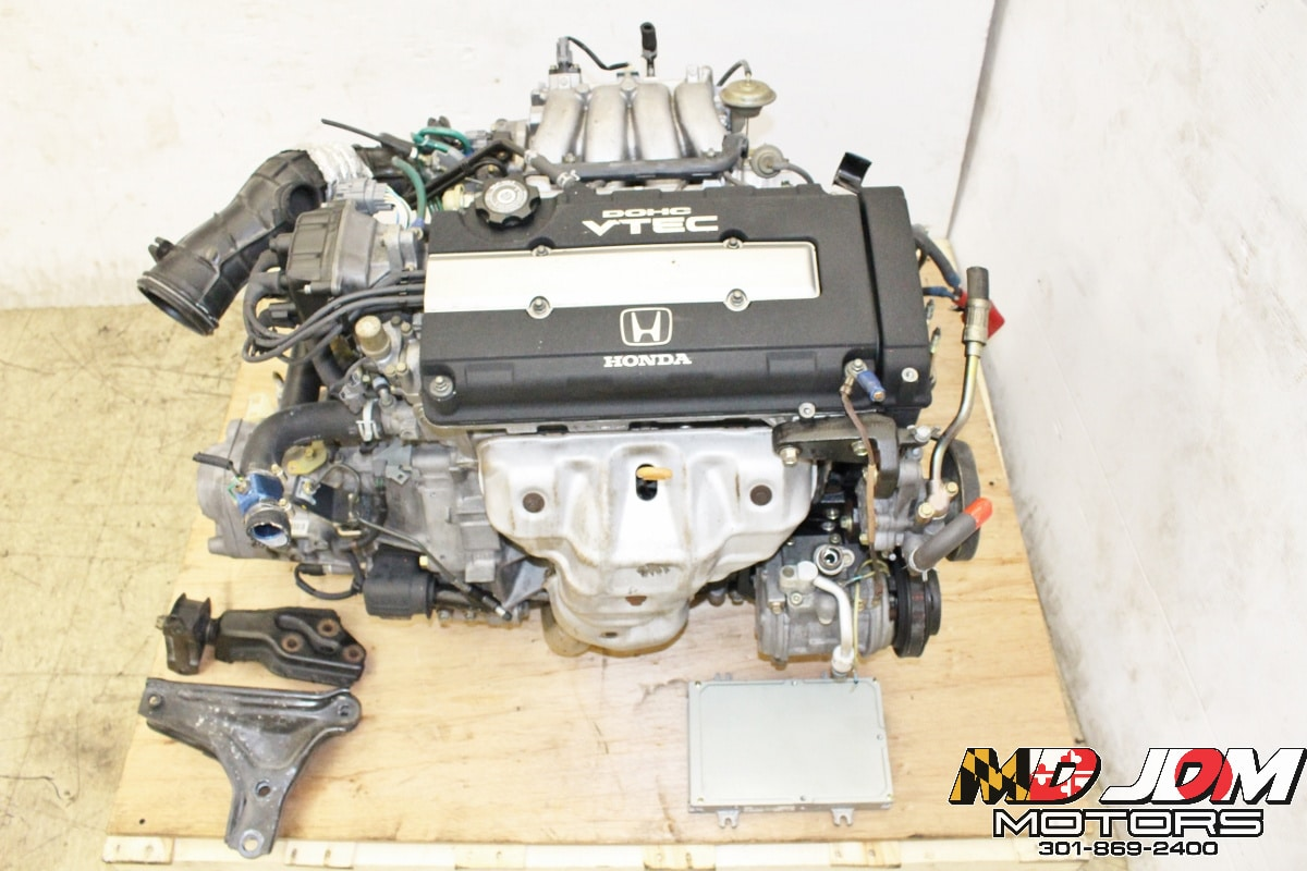 Jdm Honda Acura Gsr B18c Dohc Vtec Engine 5 Speed Lsd Transmission S80 1 8l Obd2 Md Jdm Motors