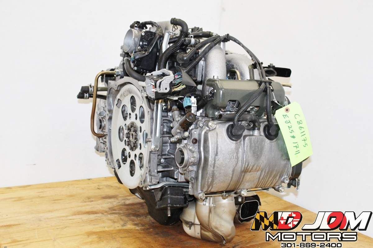 JDM Subaru Impreza 2006-2010 EJ253 AVLS SOHC NA Engine Swap for Sale with  EGR