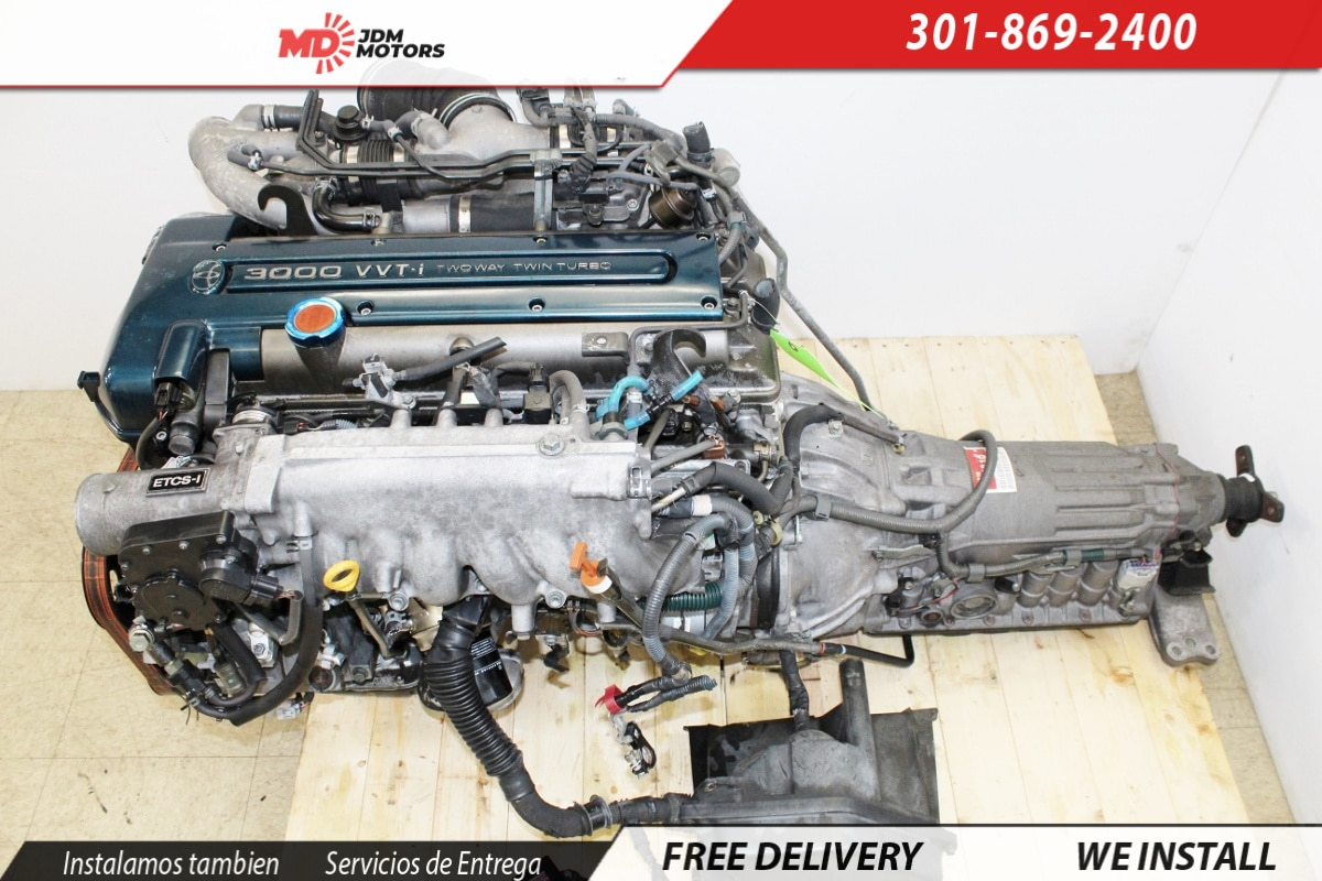 JDM 1JZ-GTE, 2JZ-GTE TURBO 2JZ-GE NON TURBO ENGINES – MD JDM